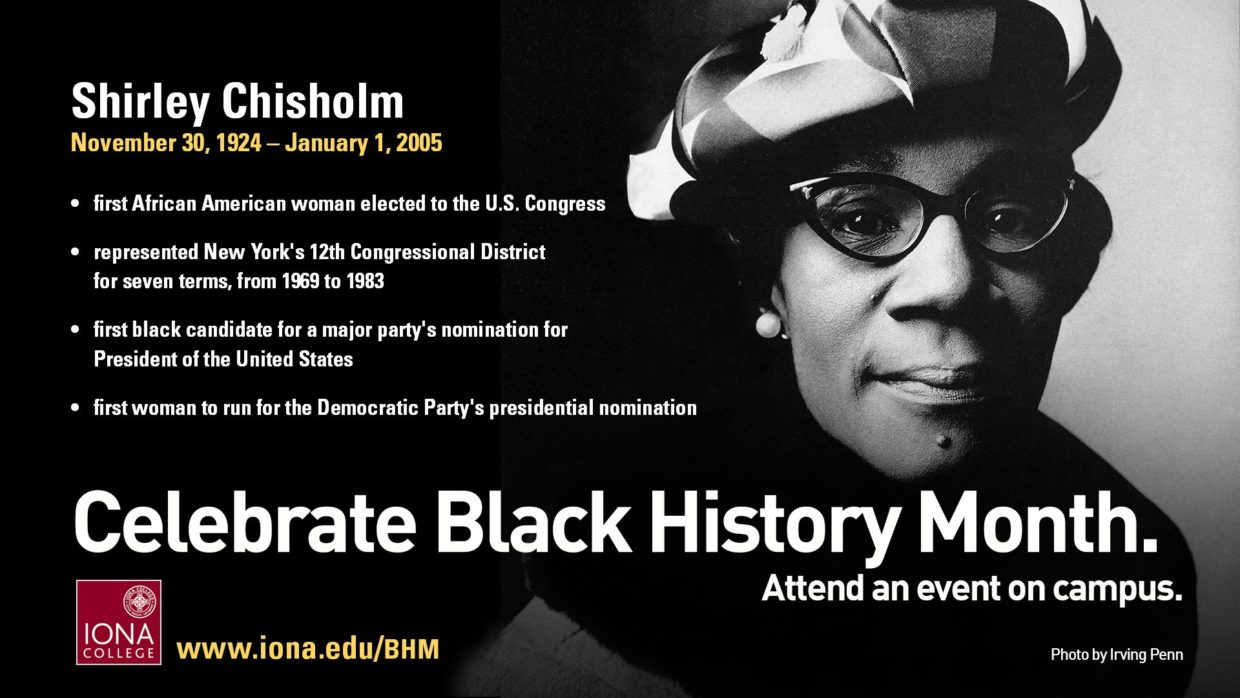 Black History Month LED board ad