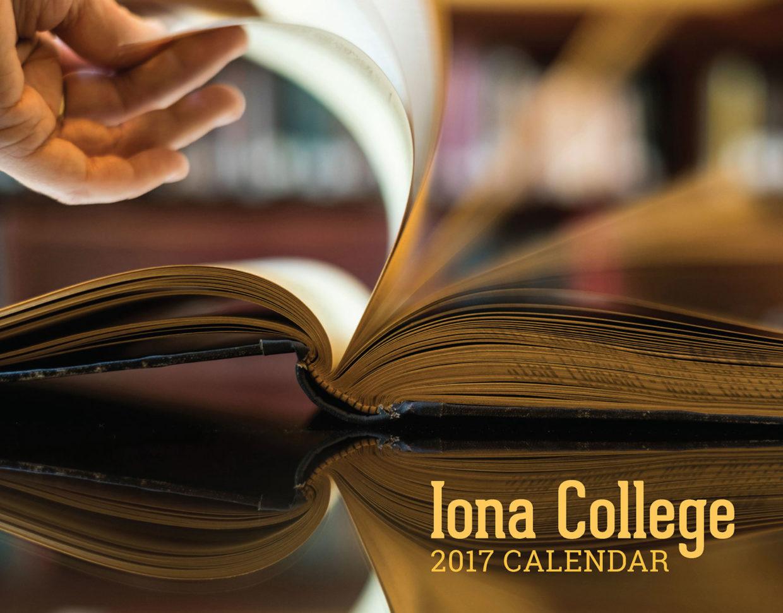Iona College 2017 calendar